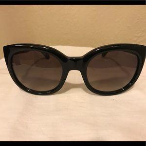 Yves Saint Laurent Cateye Black Classic Sunglasses